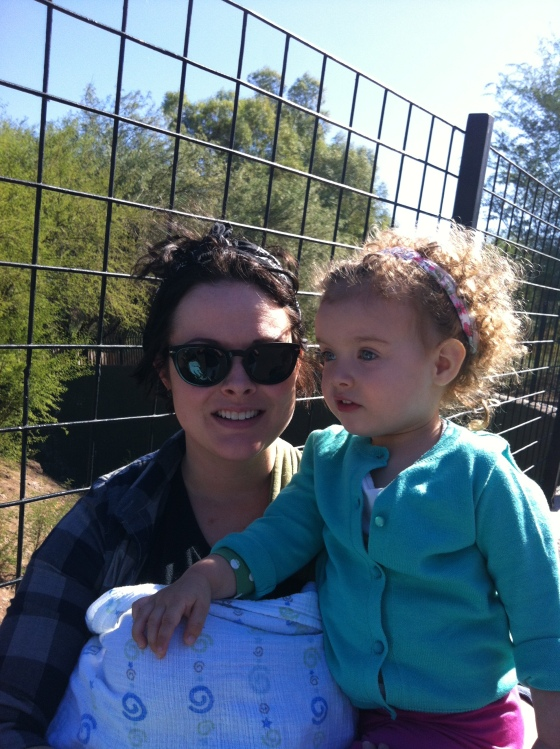 Gwen & Momma @ the Zoo